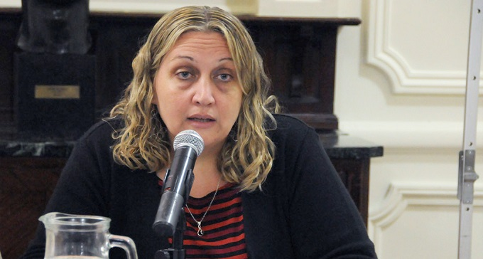 María Rachid, la única funcionaria que se animó a defender a Ameri - Mundo Poder